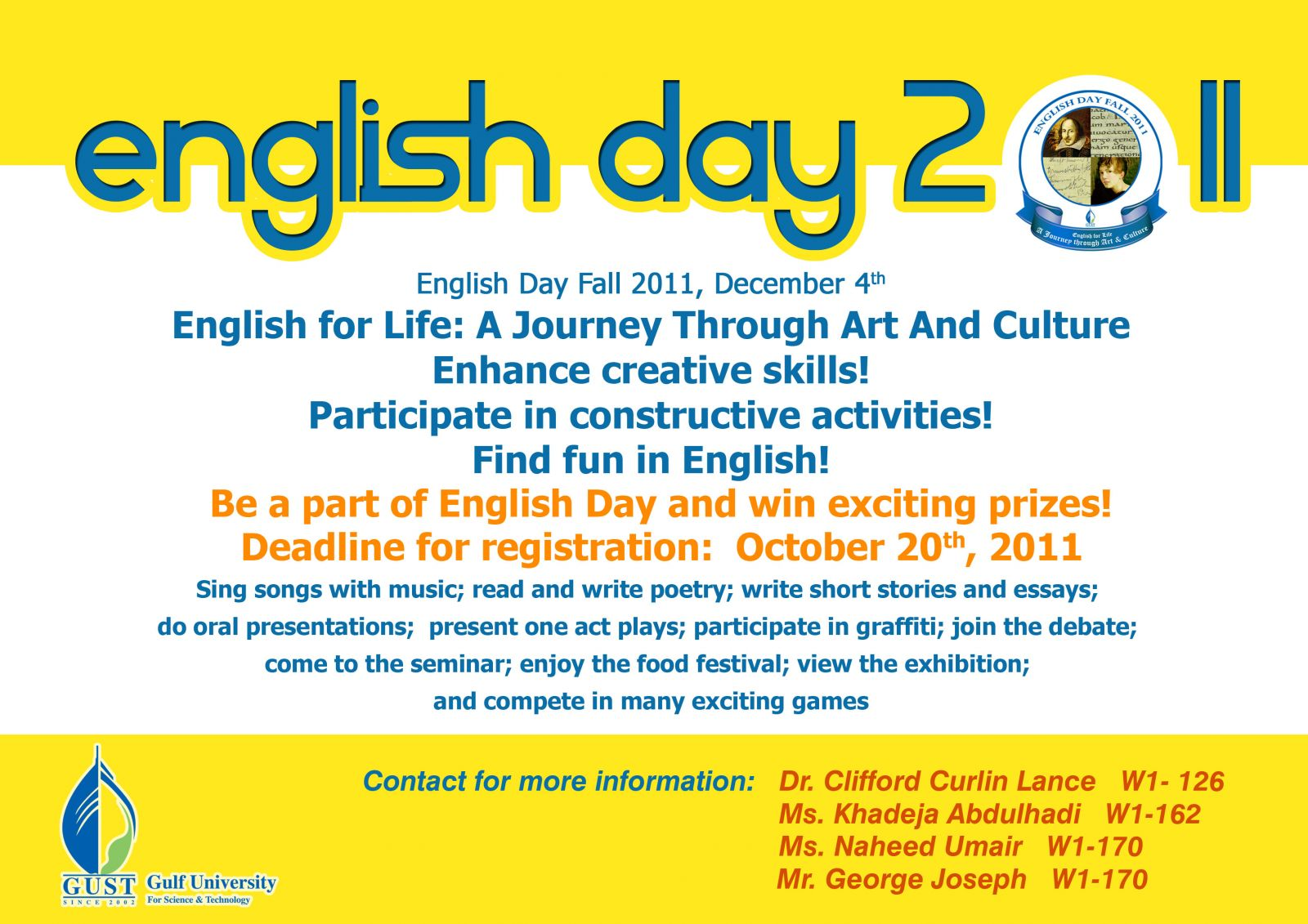 english day 2011 2012